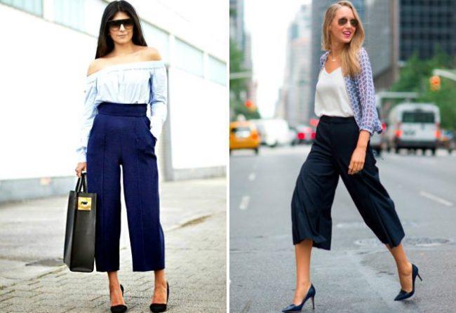 Красивые фасоны укороченных брюк, как правильно и с чем носить такие модели