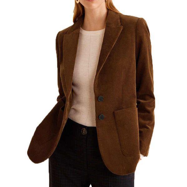 Пиджак из вельвета женский