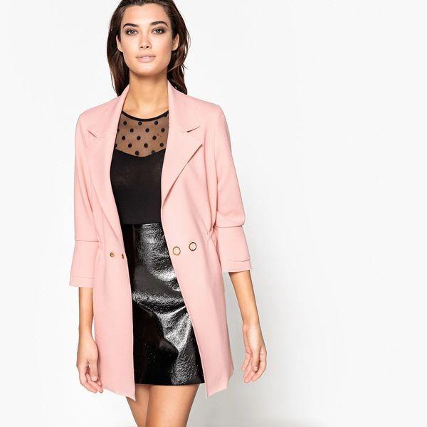 Удлинённый пиджак женский
