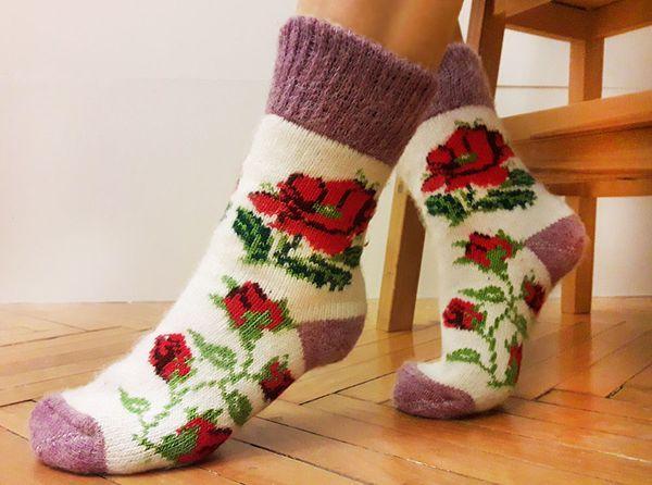 Носки теплые пушистые