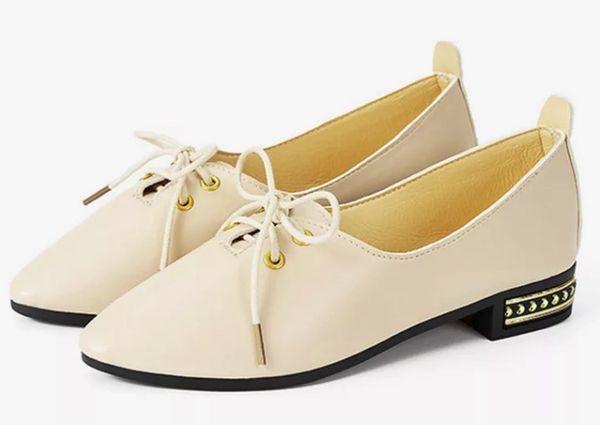 туфли с шнурками