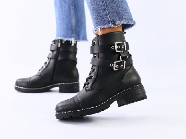 Модели кожаных модных женских ботинок, как выбрать и с чем носить