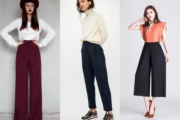 широкие брюки прямые