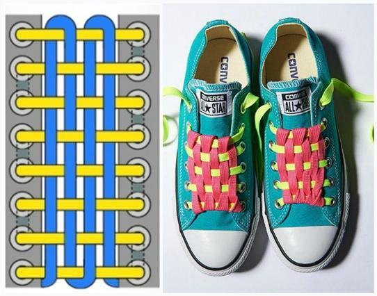 Основные способы шнуровки ботинок и креативные варианты завязать обувь