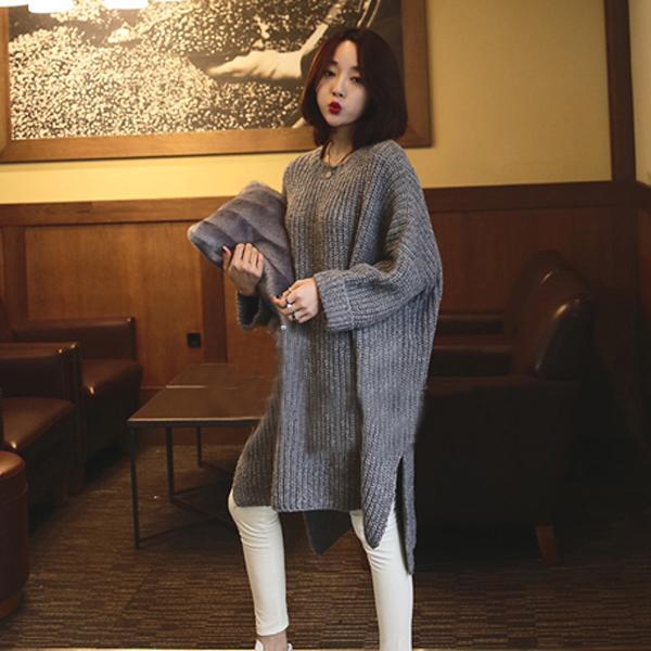 свитер-туника