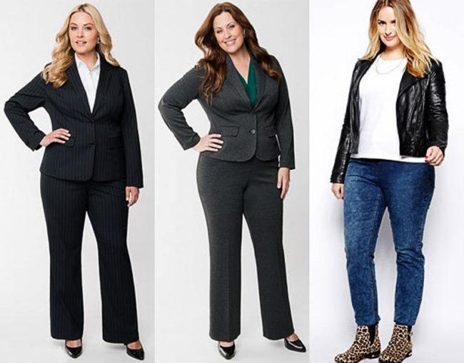 брюки для полных женщин демисезон