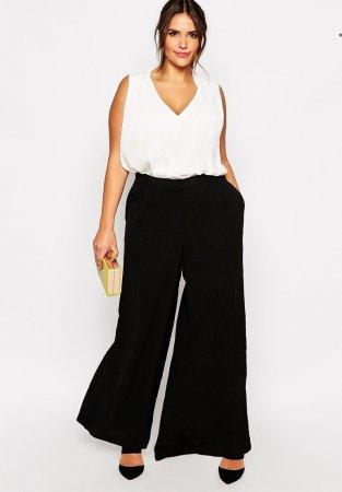 пилотки брюки для полных женщин