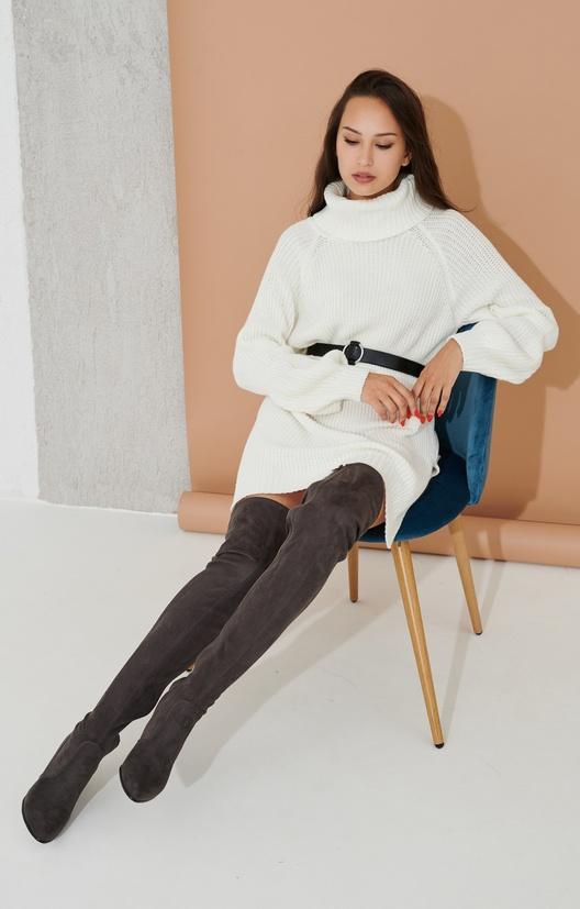 свитер удлиненный
