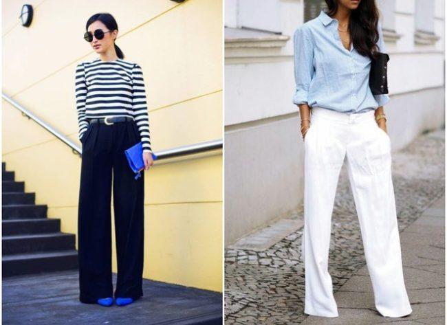 широкие брюки луки 2019
