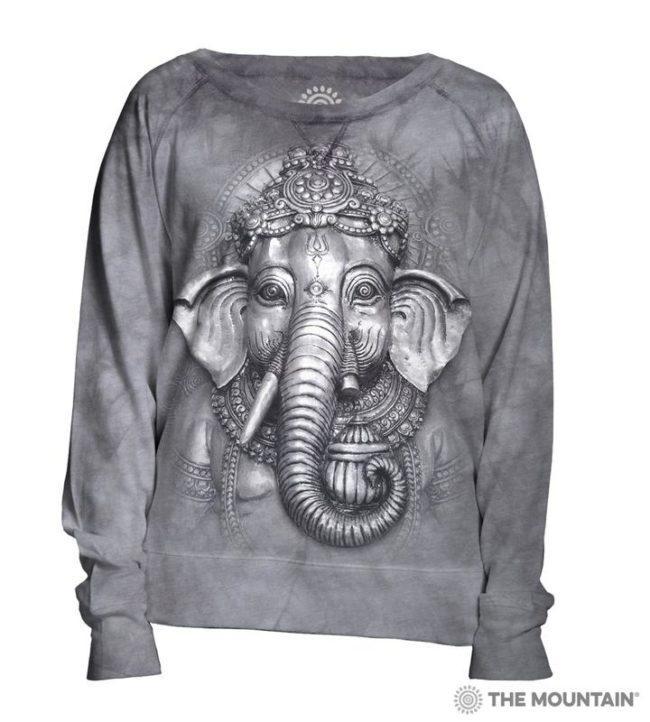свитер с 3д рисунком
