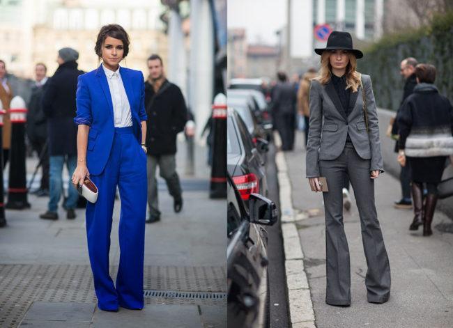 брюки с завышенной талией со шляпой