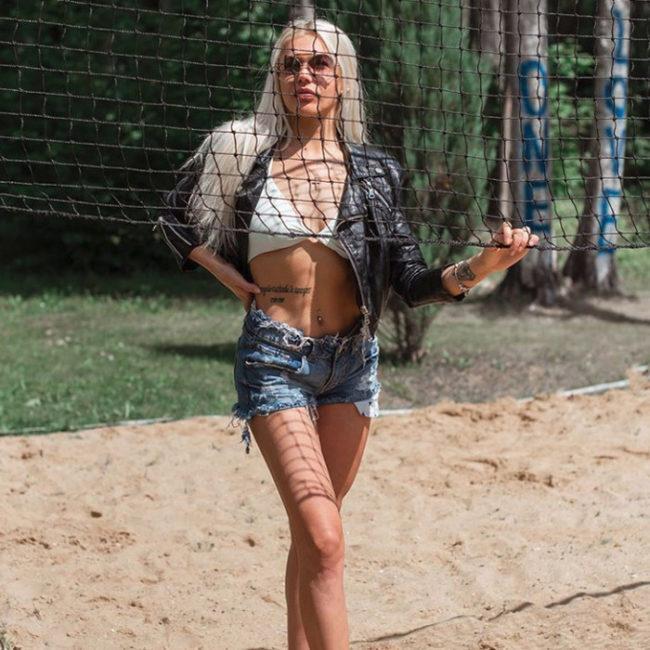 Кристина Церковная фитнес-тренер