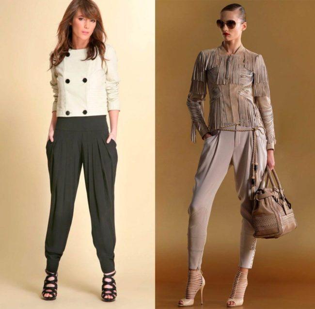 женские брюки галифе на каждый день