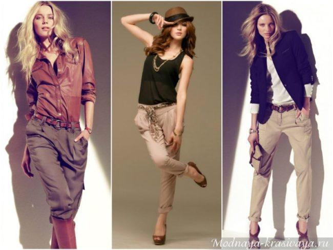 женские брюки галифе образы