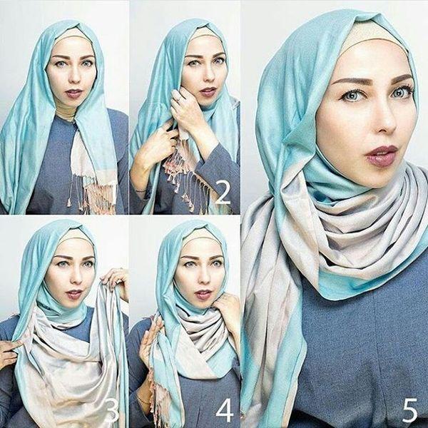 Хиджаб как завязывать красиво