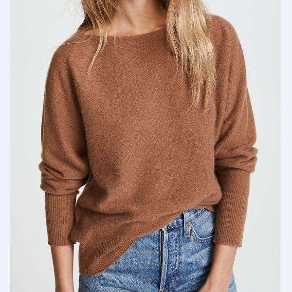 кашемировый свитер теплый