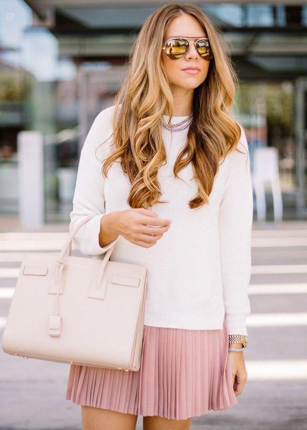 свитер из кашемира белый