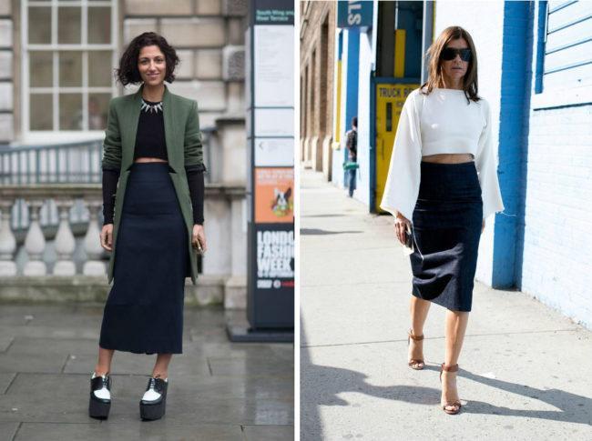 С чем можно носить юбку карандаш и как создать стильный образ, модные тенденции
