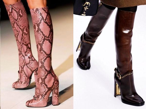 Стильные модели женских осенних сапог, как выбрать и с чем носить