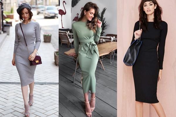 Особенности выбора платья-карандаш, с чем носить и обзор стильных луков