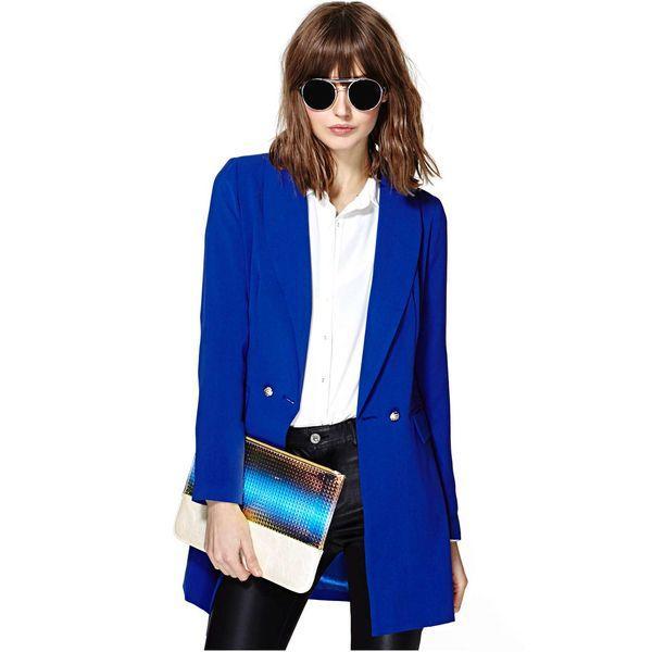 Удлиненный пиджак