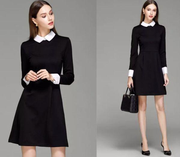 Красивые модели и фасоны школьных платьев, обзор стильных луков