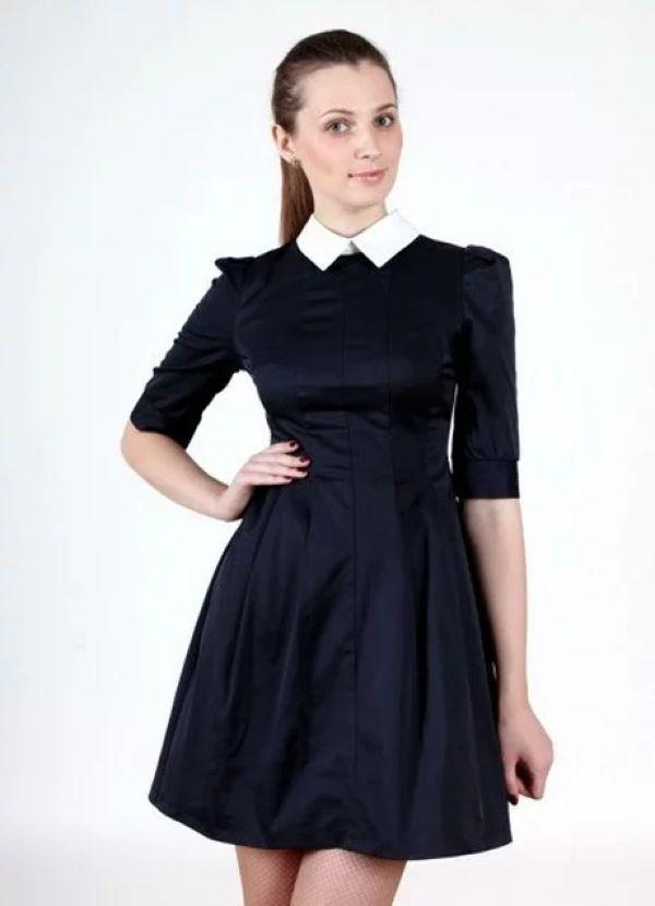 школьное платье из вмскозы