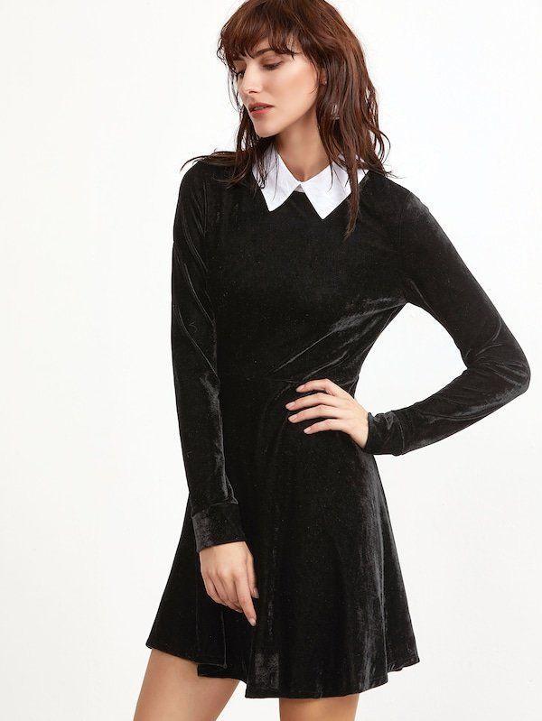 школьное платье бархат