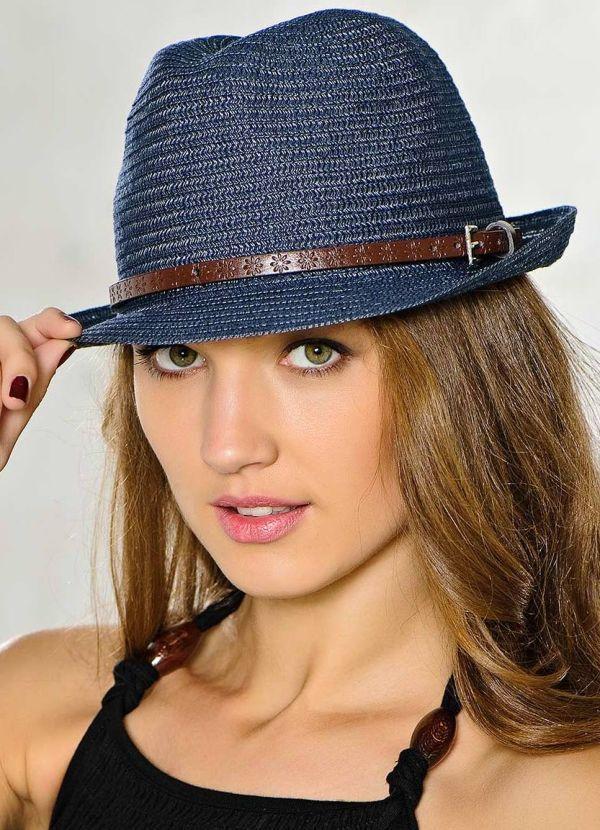 шляпка с узкими полями