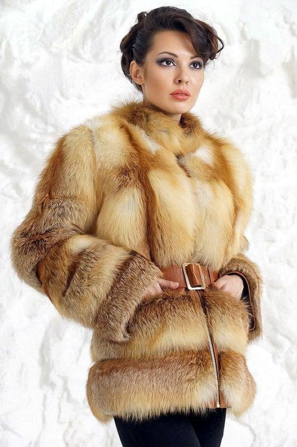 Мех Степной лисы