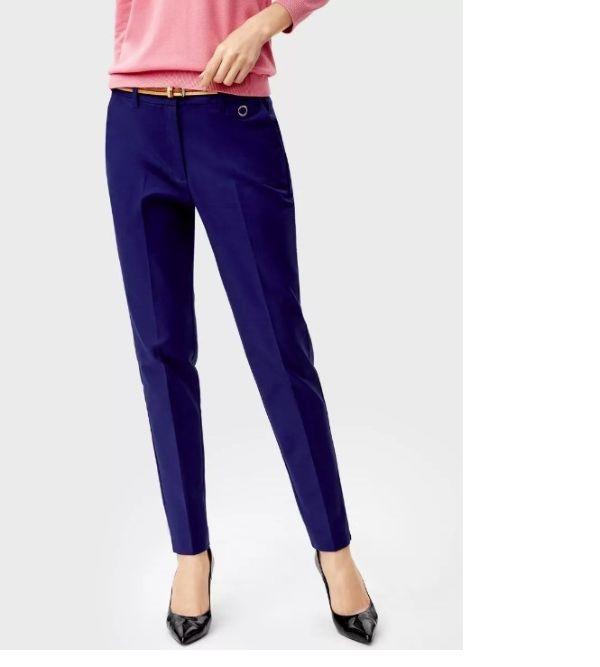 Узкие брюки со стрелками