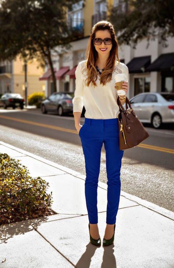 весенние брюки