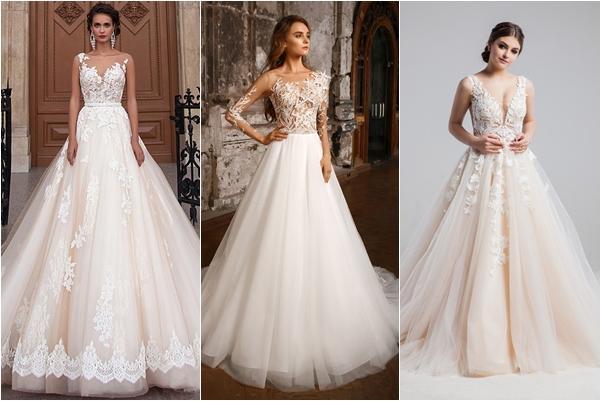 фасоны свадебных платьев 2019