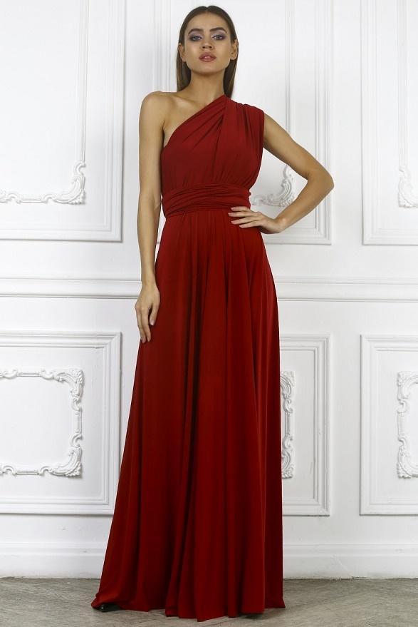 красное платье трансформер