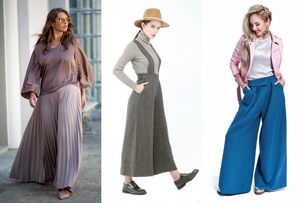 образы 2019 с юбкой брюками
