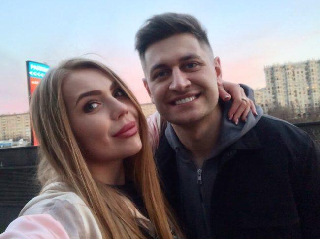 Карина Кросс с Давидом