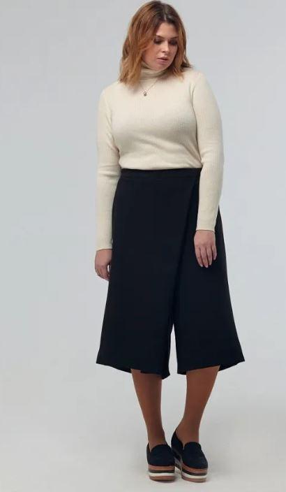 юбка брюки короткие