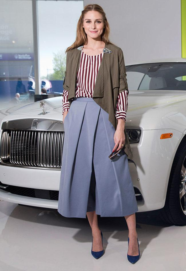 Стильные фасоны и модные тенденции юбок брюк, с чем носить