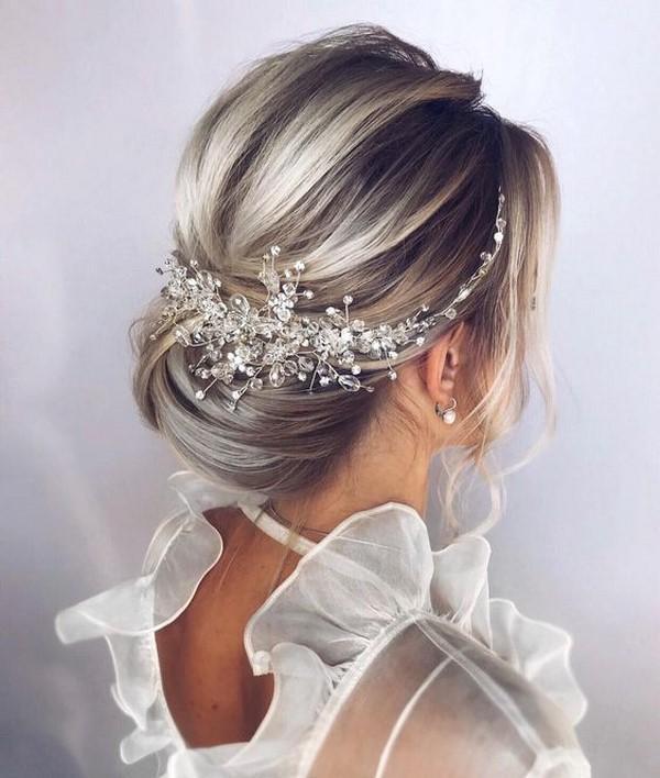 украшение для прически на свадьбу