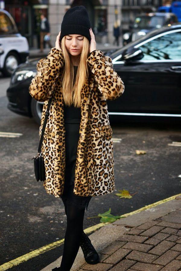 Шуба из леопарда