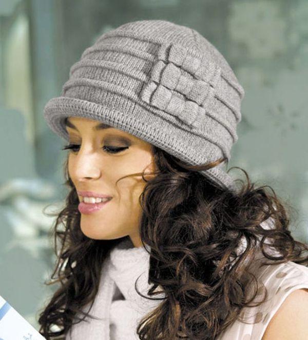 вязанная шляпка