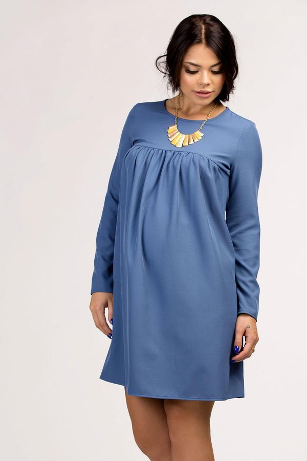 платье трапеция для беременных