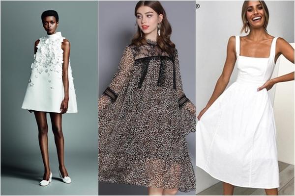 образы с платьем трапецией