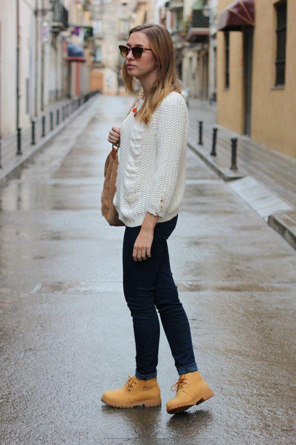 Удобные модели весенне-осенних женских полуботинок, с чем лучше носить