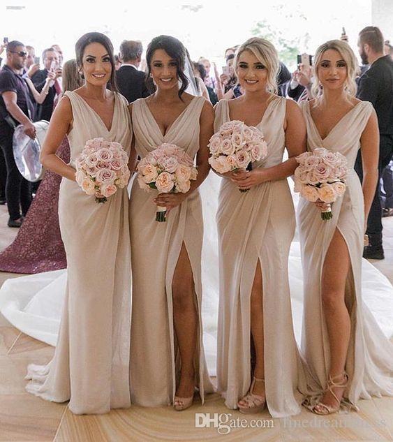 платье подружки невесты на лето