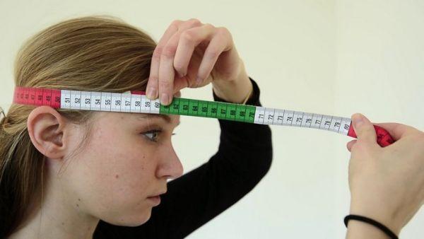 измерение головы