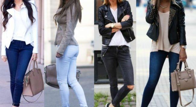 Что значит джинсы скинни и с чем их носить, модные и стильные образы
