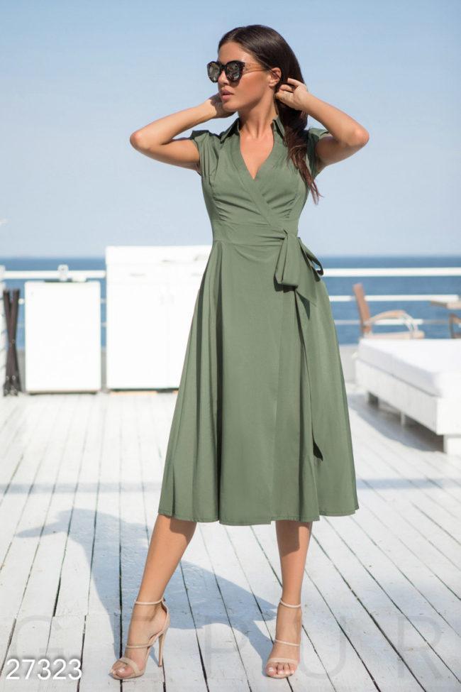 Красивые модели платьев длины миди, с чем их носить и правила выбора