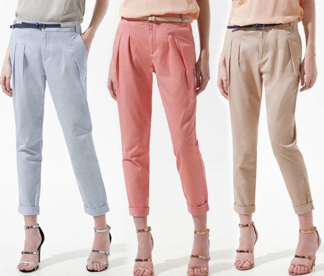 С чем носить брюки бананы, стильные и модные образы