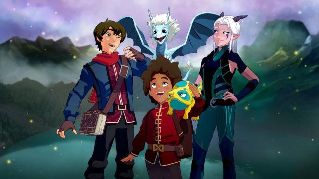 Дата выхода 4-го сезона Принца драконов и особенности мира, персонажи и интересные факты
